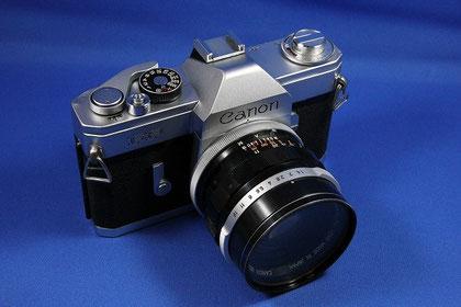 Canon FP (Canon FL50mm F1.4II 付き)