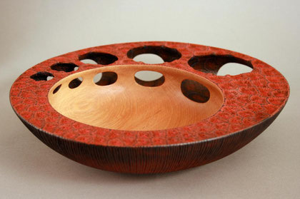 Paua bowl by Graeme Priddle