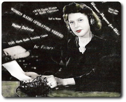 Woman cw operator