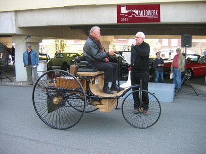 Patentwagen Nachbau