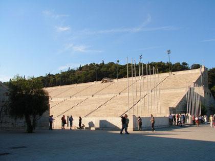 im alten Olympia-Stadion
