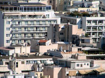 Athens Häusermeer