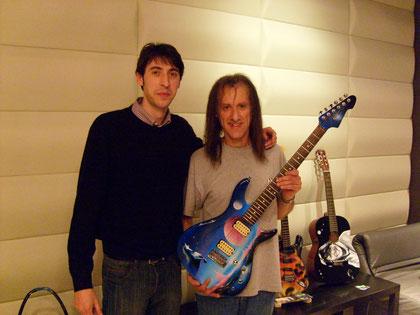 Davide Ricchetti con Scott Henderson