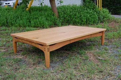 木のテーブル 座卓 食卓 ローテーブル 木製