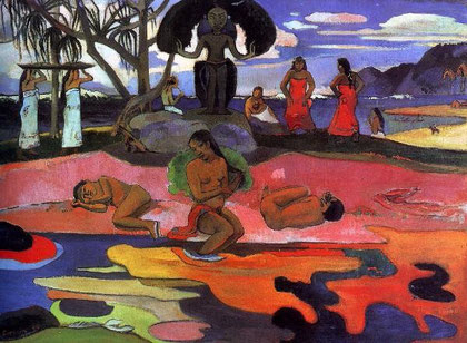 Paul Gauguin, le jour de dieu Mahana no atua (1894)