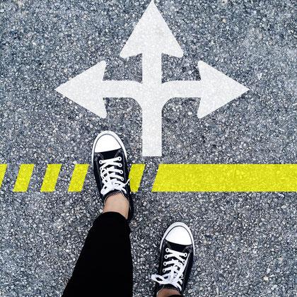 Heute: Triff einmal eine Entscheidung, damit Du nicht dauern neu entscheiden musst