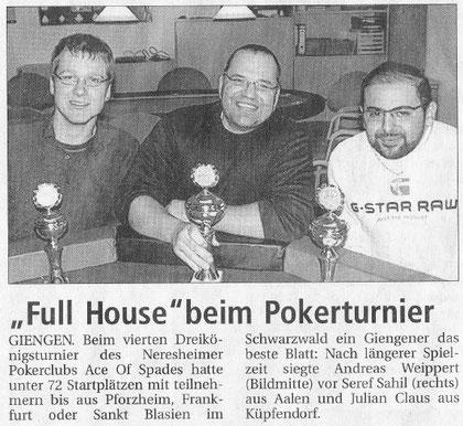 Heidenheimer Zeitung vom 12.01.2012