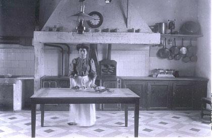 La cuisine du Prieuré.