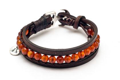 Damen Armband aus Leder