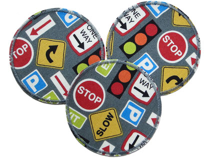 Bild: Auto Hosenflicken Applikation Bügelflicken für Kinder