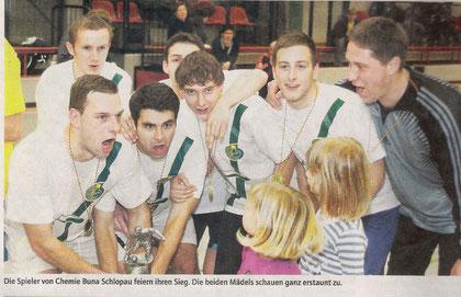 Chemie Buna Schkopau holt den letzten FDGB-Pokal