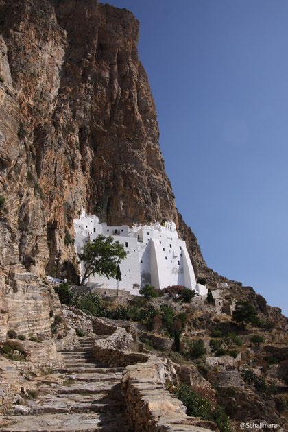 Vorderansicht des Klosters