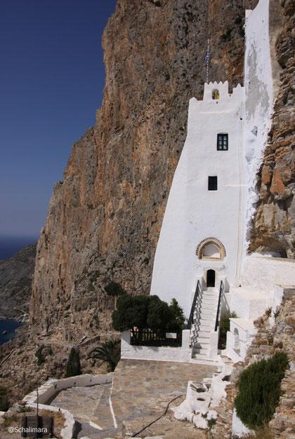 Rückansicht des Klosters