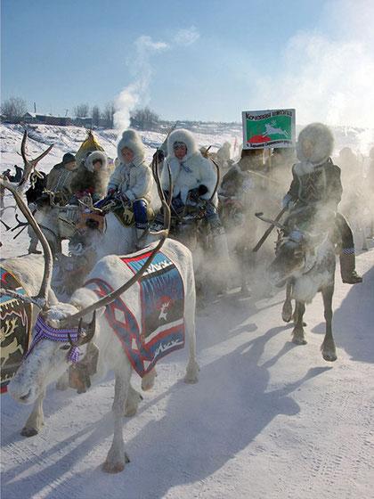 Праздник оленевода. Якутия. Фото Виктора Солодухина