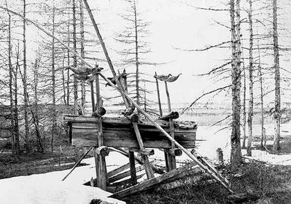 Могила шамана. Якутия