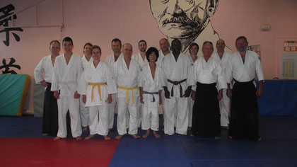 la section aikido 2013