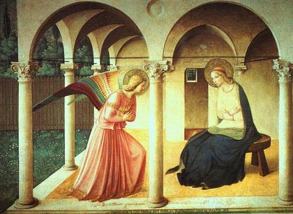Anunciación del Convento de San Marcos.Florencia.