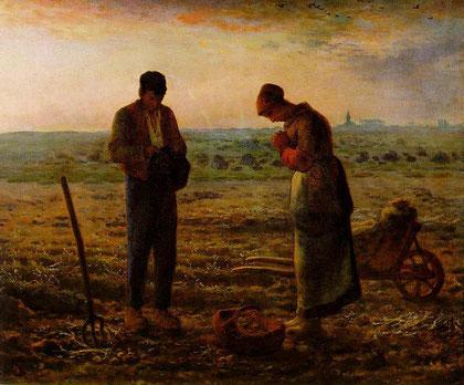 El Ángelus.J.F. Millet.1857-59