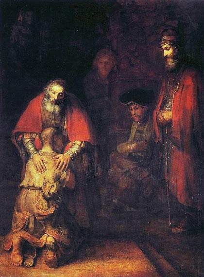 El Hijo pródigo.Rembrand