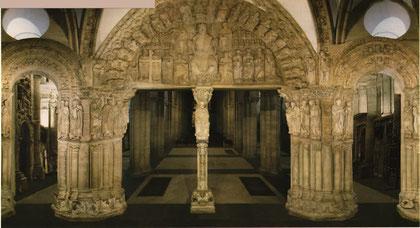 Pórtico de la Gloria.Santiago de Compostela. S.XII