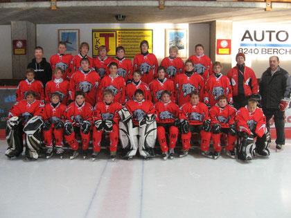 Puck Pumas Knaben 2011/2012
