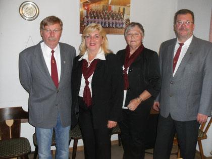 Dieter Böhm, Angelika Naß, Elisabeth-Preisinger-Franz, Alfred Eichelmann