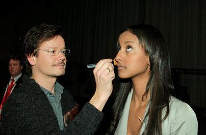Stars Supermodel Make-up Visagisten
