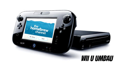 Wii U Umbau Stuttgart, Wii U Homebrew