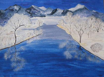 Winter in den Bergen 2012