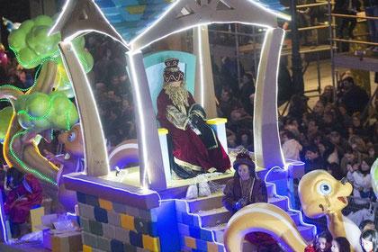 Horario y recorrido de la Cabalgata de Reyes de Vigo
