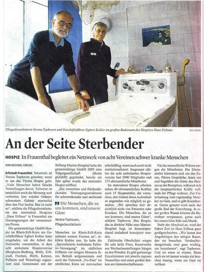 Kölner Stadt-Anzeiger 01. Mai 2013