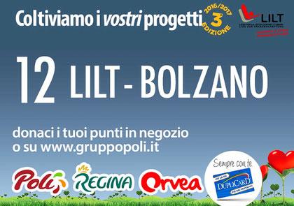 Campagna Poli: 12 LILT Bolzano