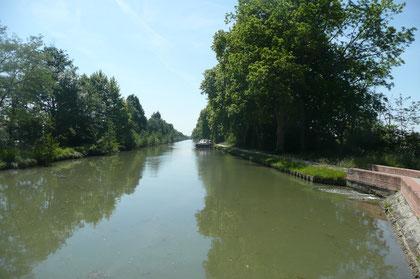 Le canal des deux mers.