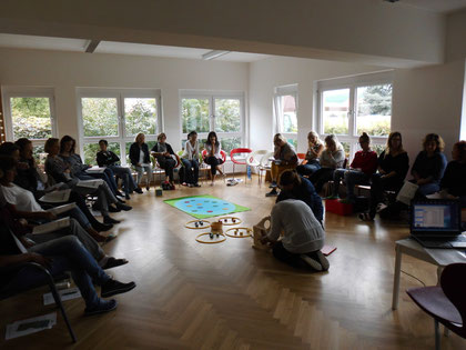 """Seminar """"Entenland 1"""", durchgeführt von Roswitha Hafen"""