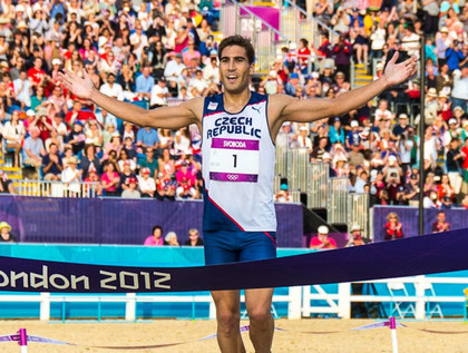2012 London: David Svoboda (CZE) Olympic Champion