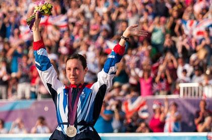 2012 London: Samantha Murray (GBR) silver medallist