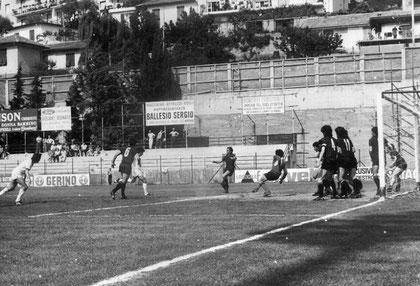 37': Bosetti pareggia i conti e realizza la sua unica rete in neroazzurro