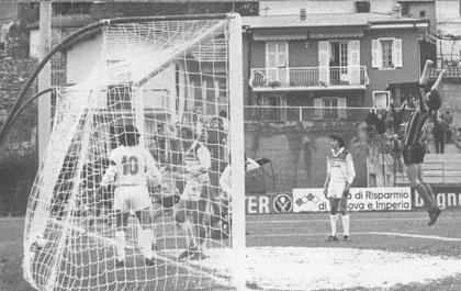 76': Oddone realizza di testa il gol partita