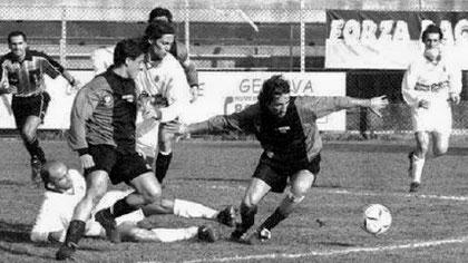 Esposito e D'Angelo in azione