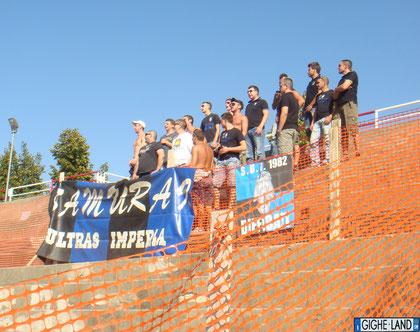 Samurai Ultras al seguito dei neroazzurri
