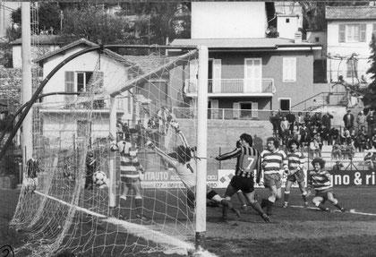 65': Lombardi realizza il gol vittoria con un violento tiro