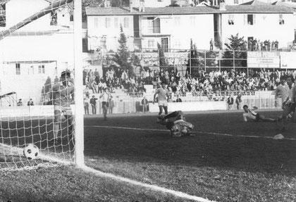 80': il gol di Bizzotto