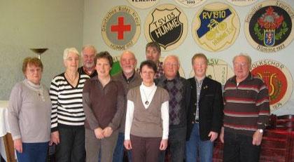 Der Vorstand (Foto: Henze)