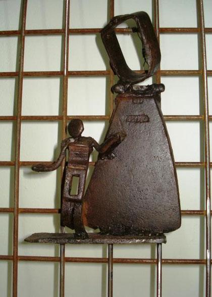 Motta Piero - Il sorriso di Roberta - Scultura ferro - 20 X 30