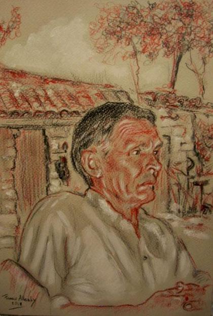 Allenby Francis G. – Ozdemir – matita cartoncino - 20 X 30