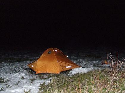 campamento base en La Picada fot. a.núñez