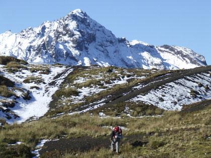 trekking de acercamiento al camp.base de La Picada fot. a.núñez