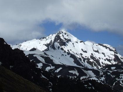 cerro La Picada (antiguo volcán extinto) 1715 m.s.n.m. fot. a.núñez