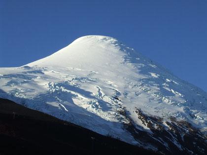 volcán Osorno 2652 m.s.n.m. fot. a.núñez