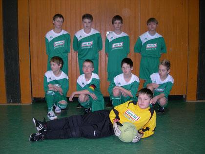 v.l.: Felix, Domenik, Jeremy, Monty, Moritz, Dean, Linus, Patrick H., Mirco
